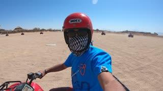 Extreme Quad ATV lessons in Egyptian Desert