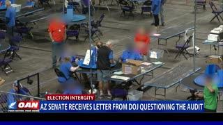 Ariz. Senate receives letter from DOJ questioning the audit