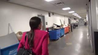 Ocasio-Cortez dodges a question about Fairfax