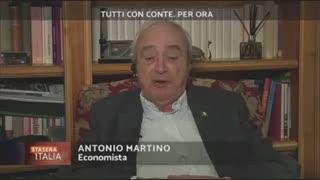 Ascoltate attentamente. Antonio Martino, economista.
