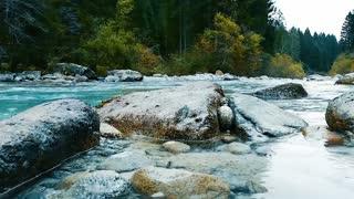 water between rocks