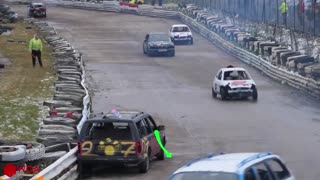 Funny Car Wars Demolition Derby