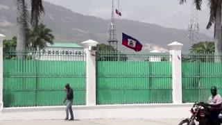 Gunshots ring out at Haiti president's funeral