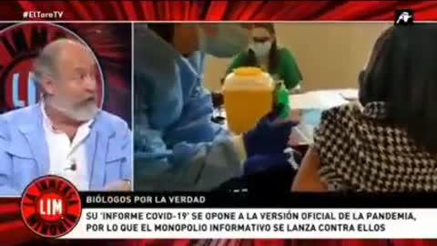 BIOLOGO FERNANDO MIRONES - El ASINTOMÁTICO ES EL MAYOR ENGAÑO QUE SE LE HIZO A LA HUMANIDAD