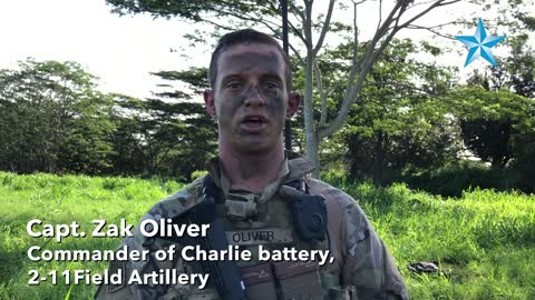 """Schofield Barracks soldiers practice fast-moving artillery """"raid"""""""