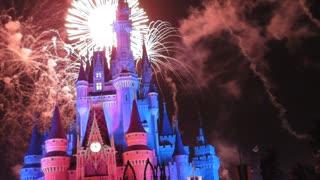 It's Christmas Time Fireworks Show WDW Nov 2013