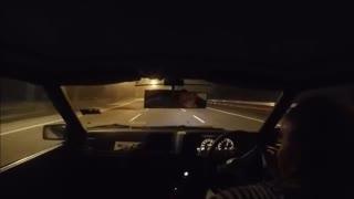 Insane AE86 Touge Street Racing Skills In Traffic