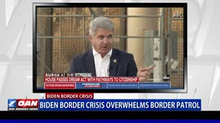 Biden border crisis overwhelms border patrol