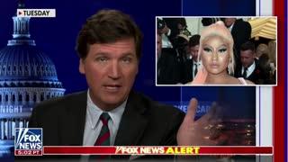 "Tucker Carlson calls Nicki Minaj ""one of the bravest people..."""