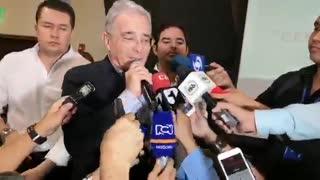 Álvaro Uribe estuvo en Santander para apoyar a candidatos del Centro Democrático