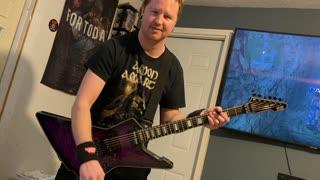 Amon Amarth - Raise Your Horns (guitar cover)