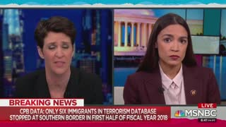 Ocasio-Cortez talks about effect of Trump's immigration policy on eating 3 meals a day