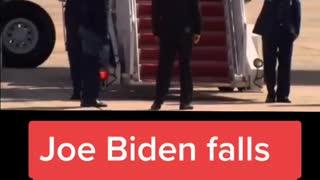 Joe Biden falling down stairs 2021