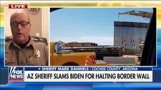 Arizona Sheriff is Asked About Biden's Migrant Crisis - and His Response is BRUTAL