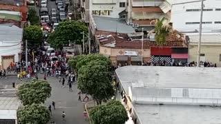 ESMAD en protesta con gas lacrimógeno | 29 de abril