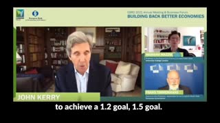 """John Kerry Says We Need """"Wartime Mentality"""" In Response To Climate Change...!!!!!"""