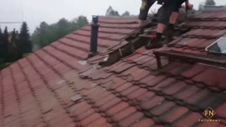 Roofers absolutely fail to look at it
