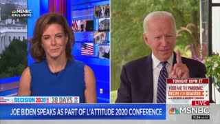 MSNBC's Stephanie Ruhle helps Biden remember