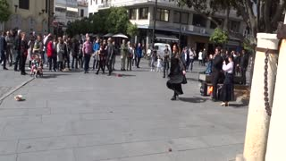 Street Dancer Flamenco in Seville