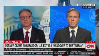 CNN SCORCHES Biden Secretary Of State Over Failed Afghanistan Withdrawal