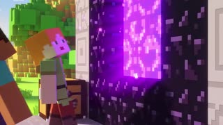 Minecraft funny happy