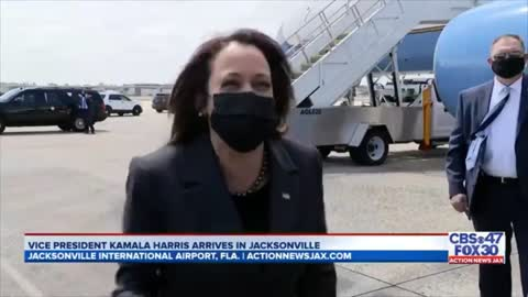 Kamala Gives Worst Possible Response When Asked If She'll Visit Border