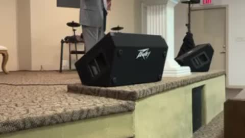 Pastor Parker at Truth Tabernacle
