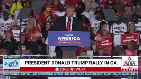 """Donald Trump: """"Our county is embarrassed. But is there any place better to be than a Trump Rally?!"""""""