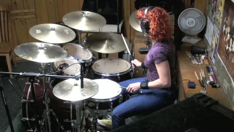 I Heard It Through The Grapevine by CCR ~ Drum Cover