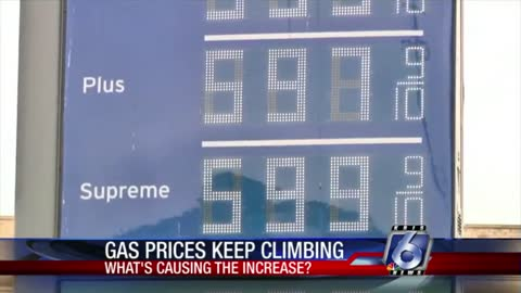Gas Prices Have Continued To Rise Over The Past 27 Days