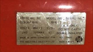 PYE BV6 Vacuum Cleaner