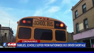 Families, schools suffer from nationwide bus driver shortage