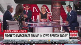 "CNN announces that Biden's to ""eviscerate"" Trump"