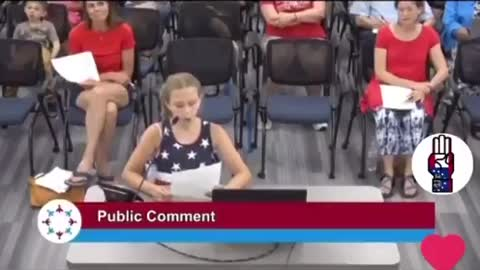 """9-Year-Old Student Blasts School Board For Allowing BLM Posters While Banning """"Politics in School"""""""