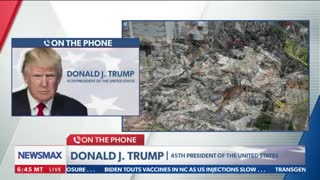 President Trump's FULL INTERVIEW with @NewsmaxTV - 6/25/21