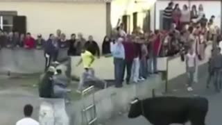 Best funny videos 2021 || Most awesome bull fighting