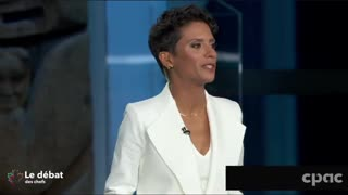 """French language debate moderator asks an 11-year-old boy about the """"climate catastrophe"""""""