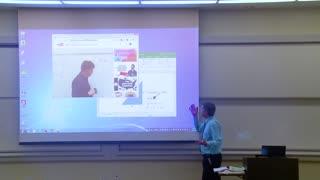 Math Professor Fixes Projector Screen (April Fools Prank) Amazing!!!