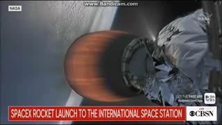 Rat outside Space Capsule in 'Space'