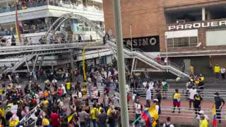 Protesta carrera 15, Bucaramanga