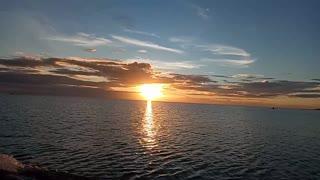 Beautiful sunset ☀️