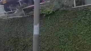 Accidente en el concesionario de Motoreste de Bucaramanga