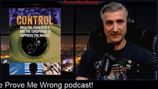 PMW Podcast - Control: MKUltra, Chemtrails and controlling the masses Author Nick Redfern