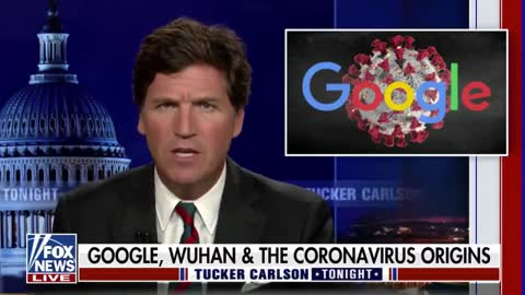WATCH: Tucker Hypes National Pulse Exposé Linking COVID Propagandist Peter Daszak To Google.