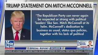 Mitch McConnell on Special Report