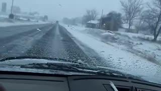 snow storm February 2020