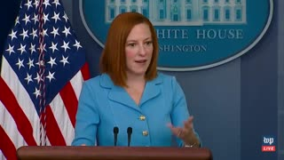 Psaki Says Biden Wasn't Criticizing Democratic Senators