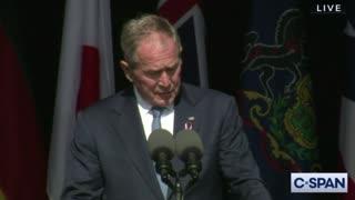 George W. Bush Full Speech from Shanksville on 9/11