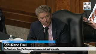 Dr. Fauci and Sen. Paul argue over coronavirus immunity