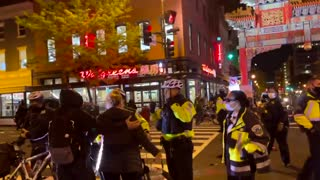 VIOLENT Video Emerges After BLM and ANTIFA Clash with D.C. Police